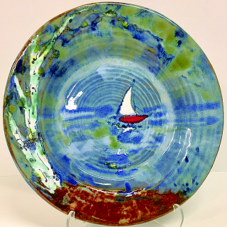 Gail Hiller ~ Feel the North Plates & Pottery